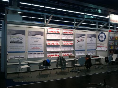 AEP Booth at the 2011 Frankfurt Book Fair